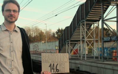 Gare de Profondsart : La Key Card oubliée de la SNCB